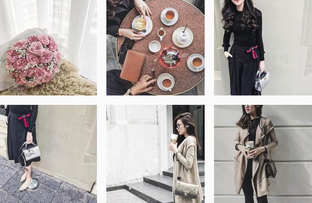 Cô thường có những bức ảnh street style sành điệu trên Instagram