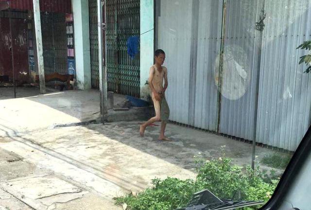 Trước xuống mương tắm và tử vong, người dân Phạm Trấn thấy nạn nhân có dấu hiệu không bình thường. Ảnh: Trọng Quân Nhân