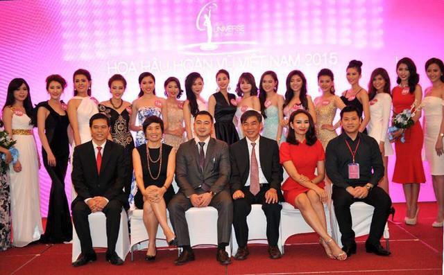 Tuấn John là phó Ban tổ chức cuộc thi Hoa hậu Hoàn vũ 2015.