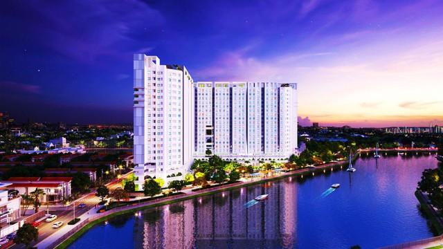 Marina Riverside cách trung tâm TP.HCM chỉ 15 phút đi xe máy