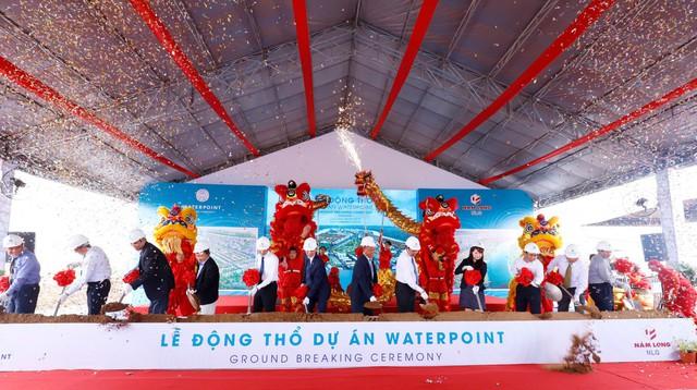 Nam Long động thổ Khu đô thị Waterpoint 355 ha