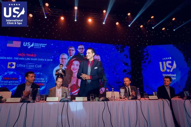 Hội thảo đã thu hút sự quan tâm của đông đảo các chuyên gia làm đẹp hàng đầu của Việt Nam và thế giới.