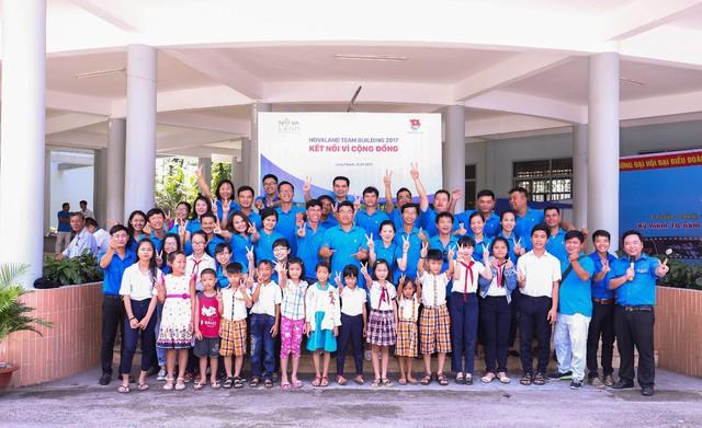 Tập thể CBNV Novaland luôn đồng hành cùng tập đoàn trong các hoạt động thiện nguyện