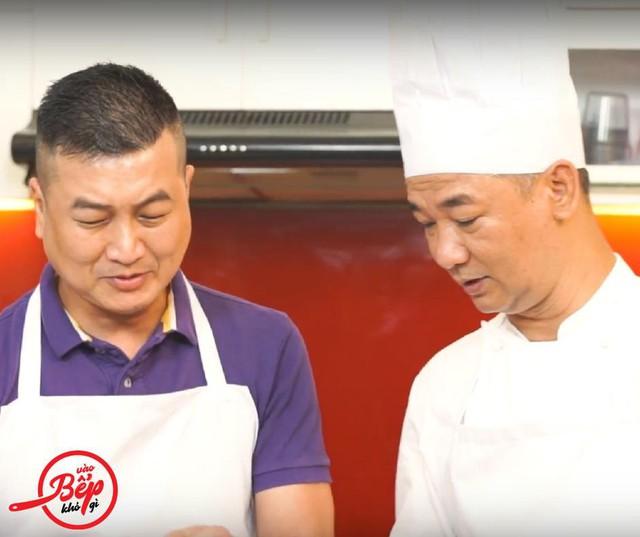 Nhạc sĩ Minh Nhiên và đầu bếp Phạm Tuấn Hải