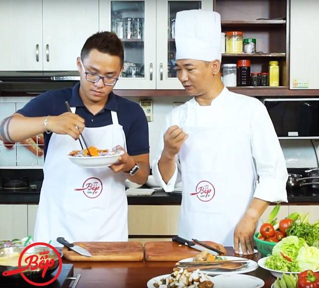 """""""Nấu ăn cũng giống như viết nhạc"""" -nhạc sĩ Huy Long chia sẻ"""