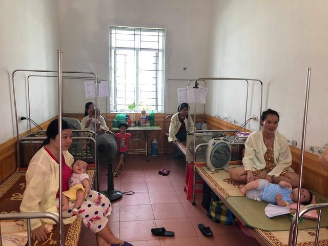 BVĐK Hải Hậu là BV hạng 2, quy mô 520 giường thực kê. Mùa hè, hệ thống quạt mát được trang bị tới tận từng giường bệnh.