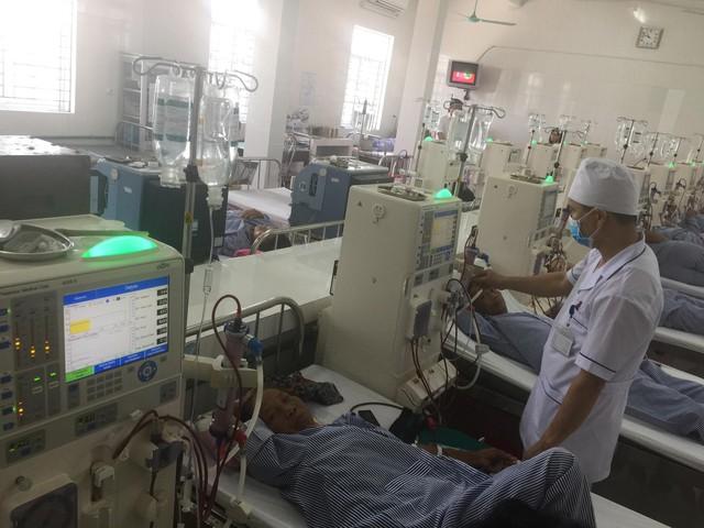 100% máy chạy thận nhân tạo ở BVĐK Hải Hậu là từ ngân sách Bệnh viện.