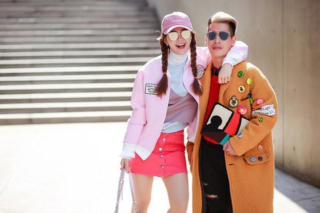 Minh Hằng và stylist Travis Nguyễn
