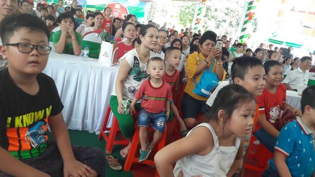 Sự kiện thu hút đông đảo các bé và phụ huynh tham gia