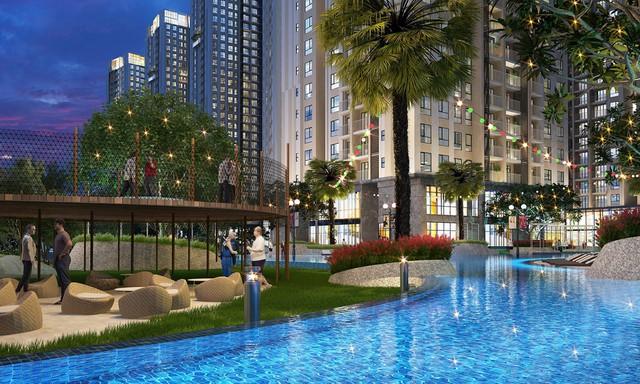 Đặc trưng của căn hộ Duplex là có chiều cao thông tầng và cửa sổ kính rộng lớn, tạo sự khác biệt trong từng góc nhìn