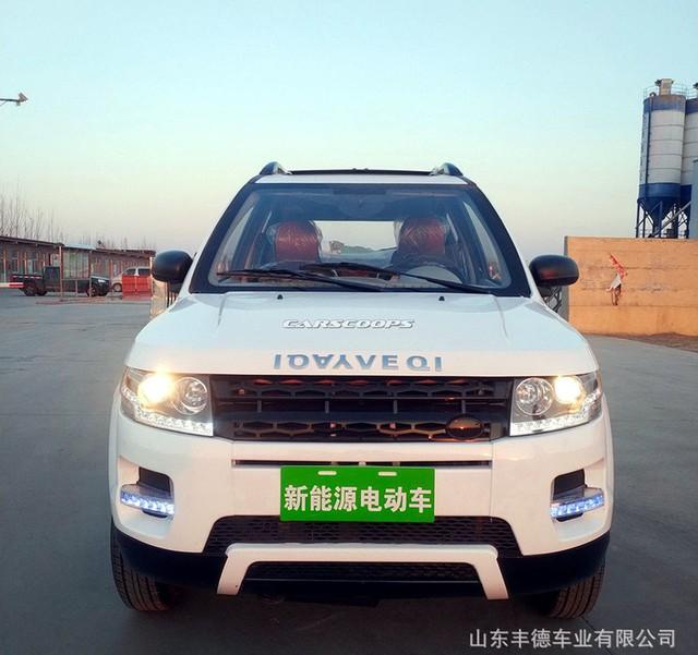 Mẫu xe nhái Range Rover. Ảnh: Carscoops