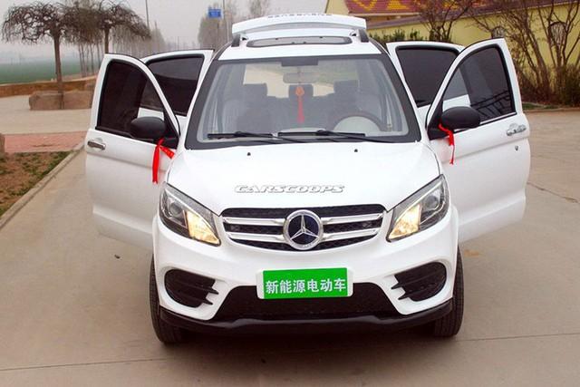 Mẫu xe điện Trung Quốc nhái Mercedes-Benz GLE. Ảnh: Carscoops
