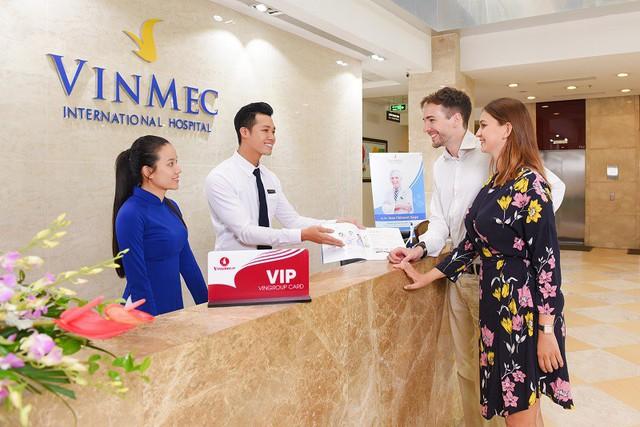 Khách hàng đã được trải nghiệm cảm giác an toàn, hài lòng khi đến thăm khám tại Vinmec.