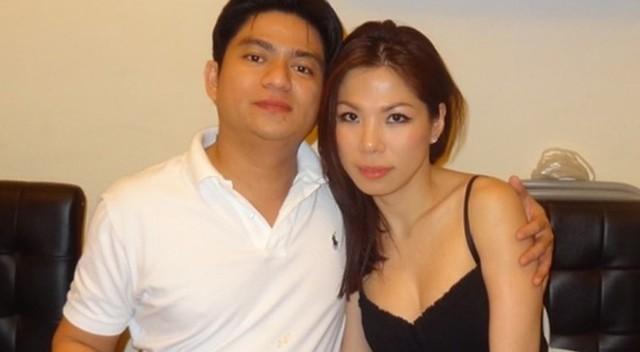 Ông Thái và bà Ngọc khi còn tình cảm