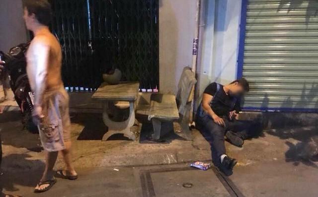 Anh Phong bị bắn 4 phát vào người.