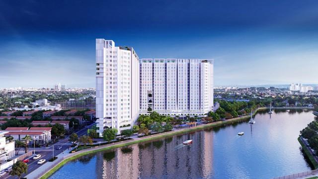 Marina Riverside – căn hộ tiêu chuẩn Singapore 100% view sông tại Bắc Sài Gòn