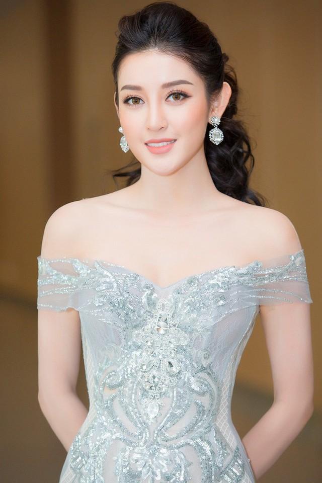 Tối qua, 7/6, Á hậu Huyền My xuất hiện xinh đẹp tại một sự kiện được tổ chức ở Hà Nội.