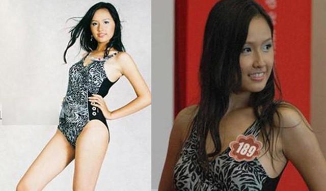 Mai Phương Thuý tại vòng sơ tuyển Hoa hậu Việt Nam 2006.