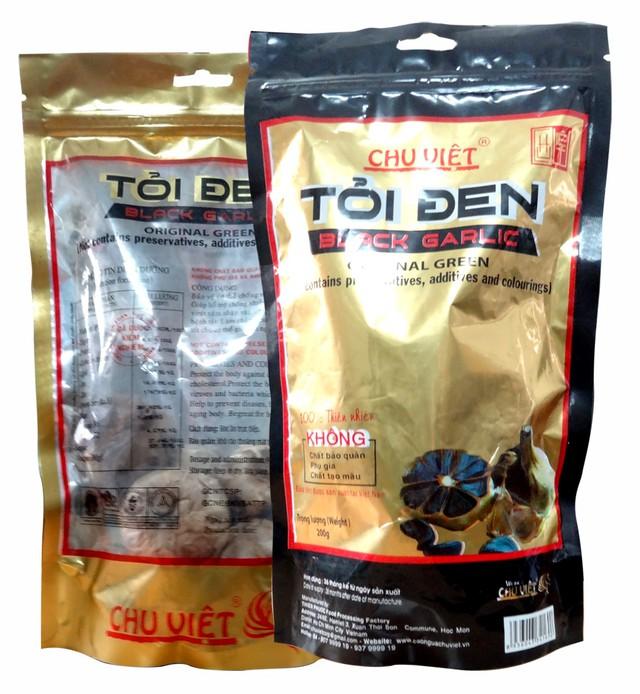 Sản phẩm Tỏi đen Chu Việt được bình chọn tin và dùng năm 2016.