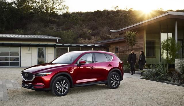Thiết kế mang đậm dấu ấn của thương hiệu Mazda.