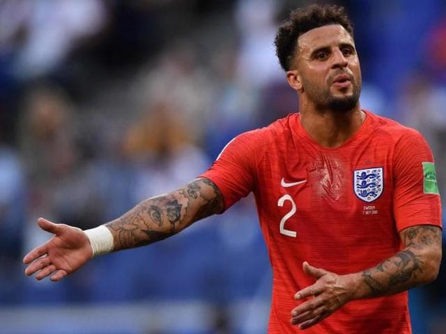 Kyle Walker hiện đang cùng các đồng đội trong đội tuyển Anh tham dự World Cup 2018.