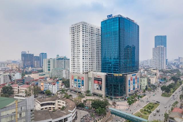 Toàn cảnh tòa TNR Tower Nguyễn Chí Thanh
