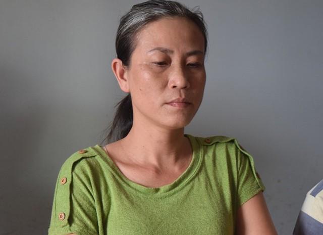 Bà Tâm bị công an bắt giữ về hành vi Lừa đảo chiếm đoạt tài sản. Ảnh: Trần Hồng.