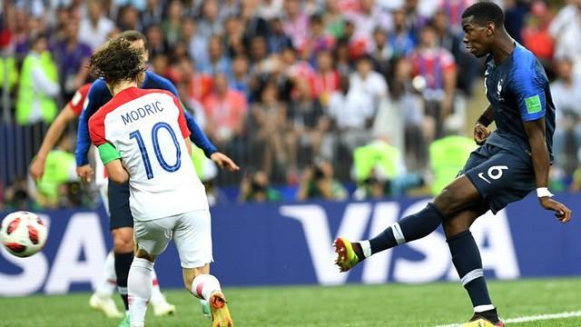Pogba nâng tỷ số lên 3-1 cho Pháp