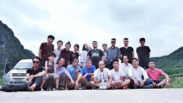 Đoàn làm phim Quỳnh búp bê đi Quảng Bình quay cảnh cuối.