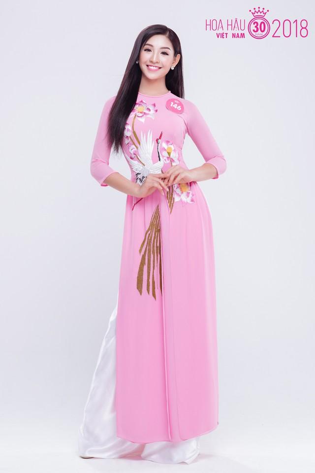 Thí sinh Lê Thanh Tú với vẻ đẹp khá hiện đại