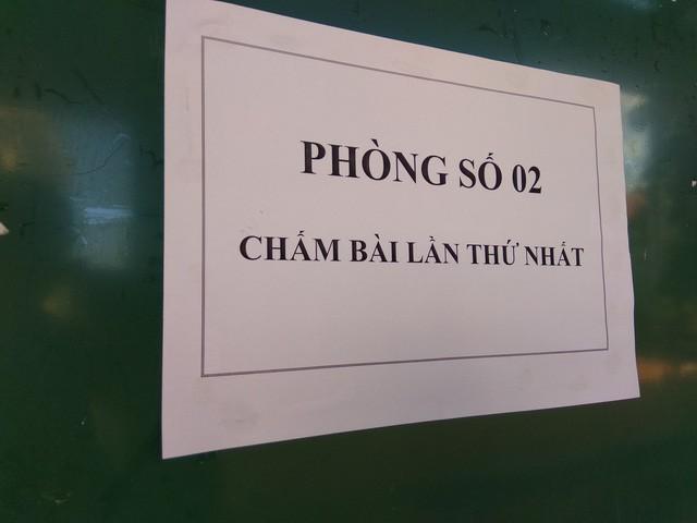 Theo ông Mai Văn Trinh, Cục trưởng Cục Quản lý Chất lượng (Bộ GD&ĐT), qua rà soát, đã phát hiện những sai phạm trong quá trình chấm thi của Hà Giang. (Ảnh: Mỹ Hà).