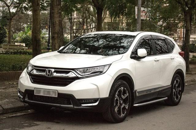 Honda CR-V tăng giá 2 lần liên tiếp.