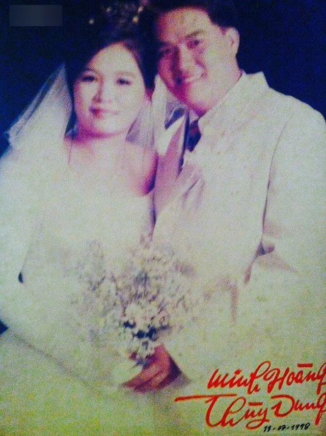 Ảnh cưới của vợ chồng Hoàng Mập.