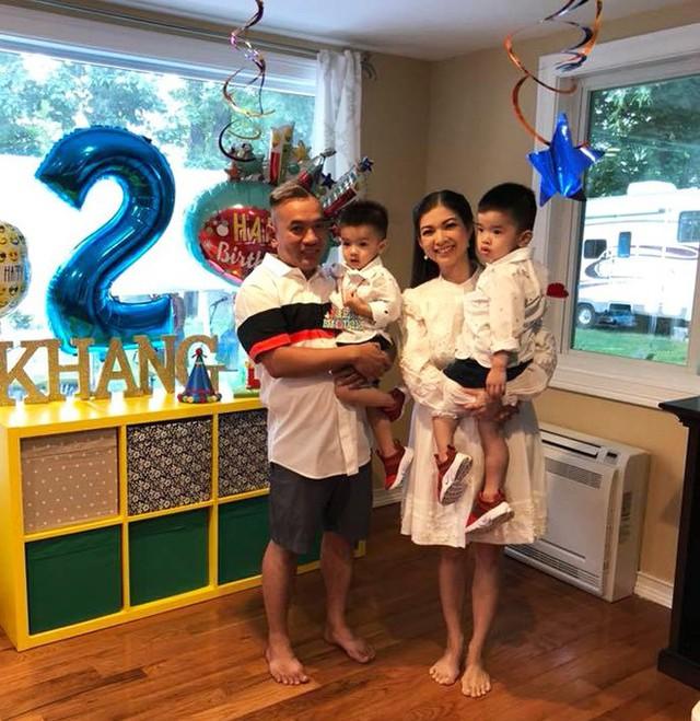 Mái ấm của Phạm Thanh Thảo bên chồng và 2 con trai.