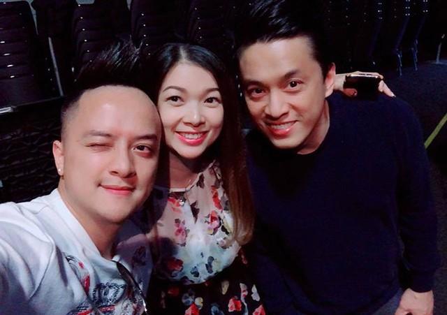 Phạm Thanh Thảo gặp lại đồng nghiệp trong những buổi diễn tại Mỹ.