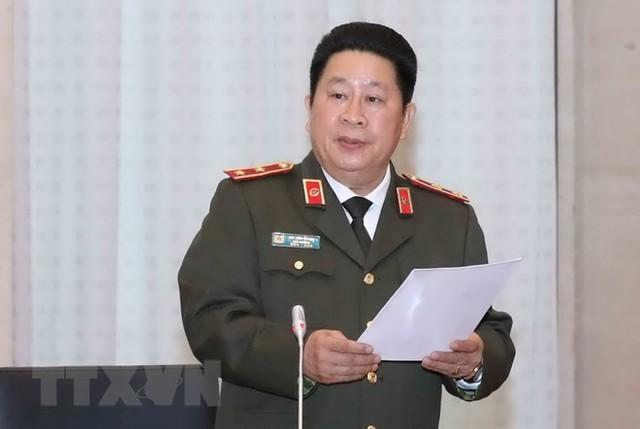 Thứ trưởng Bộ Công an Bùi Văn Thành bị cách tất cả các chức vụ trong Đảng.