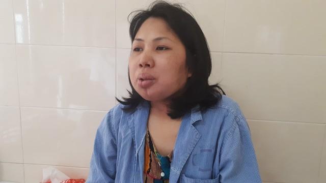 Chị Vân đang điều trị tại Bệnh viện K3.