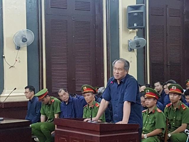 Bị cáo Phạm Công Danh tại phiên tòa.     ảnh: TL