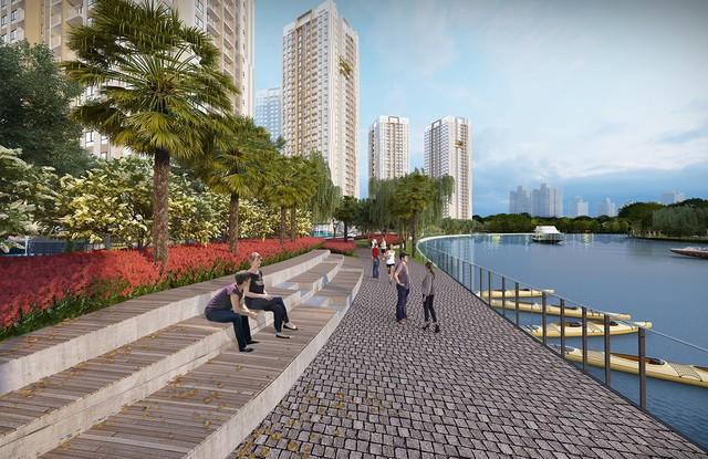 Trong bối cảnh tốc độ phát triển nhanh chóng của đô thị lớn như TP.HCM, việc lựa chọn một chốn an cư có môi trường sống an lành luôn là mong ước của các cư dân.
