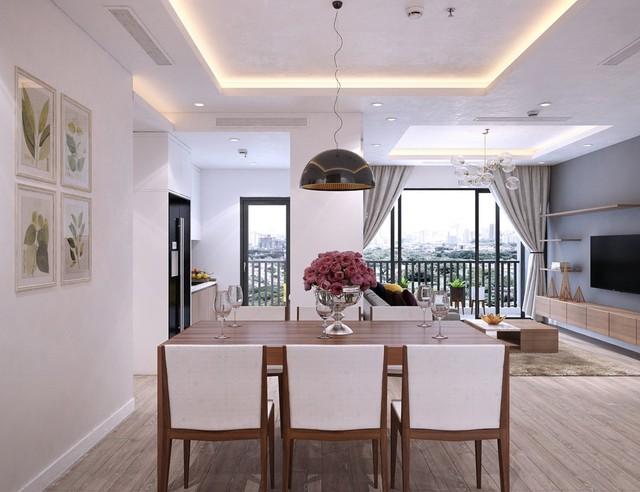 Diện tích rộng rãi của căn hộ Thống Nhất Complex phù hợp với đại gia đình
