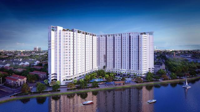 Marina Riverisde - khu căn hộ 100% view sông tại Bắc Sài Gòn thu hút khách hàng có nhu cầu ở thực cũng như khách đầu tư