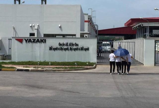 Nhà máy Yazaki Đông Mai, nơi xảy ra vụ việc. Ảnh: TL