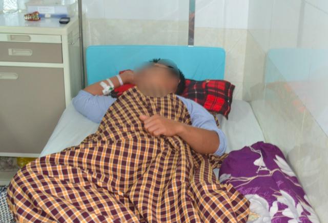 Hiện tại sức khỏe bệnh nhân đã ổn định, theo dõi tại khoa Ngoại, BVĐK Hùng Vương.