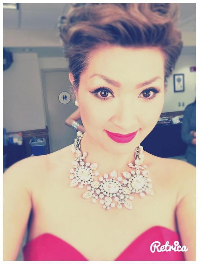 Nữ ca sĩ Hồng Nhung hiện đang sống cùng con ở Mỹ.