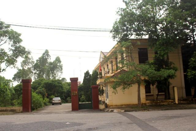 TAND huyện Ninh Giang, nơi đưa ra quyết định ly hôn giữa chị H. và anh T. Ảnh: Đ.Tùy