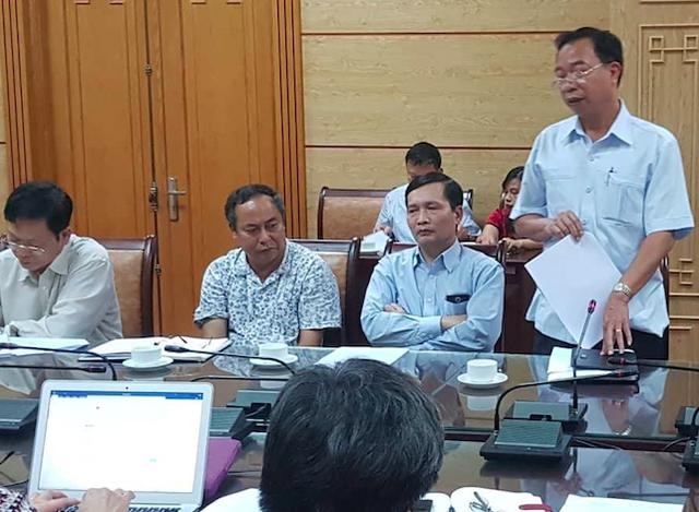 Ông Vương Văn Tịnh – Giám đốc Bệnh viện Tâm thần Trung ương 1
