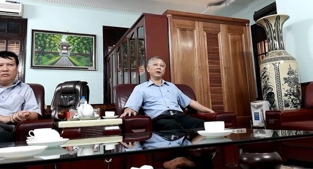 Ông Phan Trọng Khánh, Chánh Thanh tra tỉnh Hải Dương trả lời Báo Gia đình và Xã hội về nội dung mình bị tố cáo.