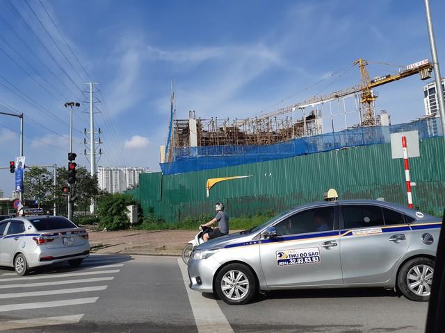 Dự án này đã được chủ đầu tư xây dựng trở lại. ảnh: PV