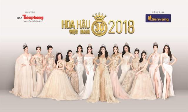 14 Hoa hậu tụ hội bên nhau trong bộ ảnh kỷ niệm