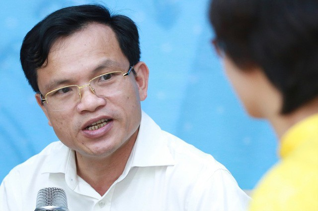Ông Mai Văn Trinh, Cục trưởng Cục Quản lý Chất lượng (Bộ GD&ĐT). (Ảnh: LĐO)